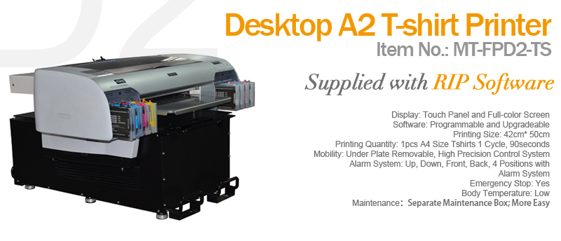 D2 Dtg Textile Printer Apex Digital Flatbed Uv Printer