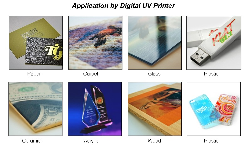 application of uv printer